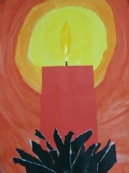Kl. 1/2 - Adventskerze