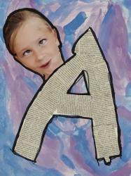 Kl. 1/2 - Lustige Buchstaben