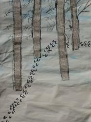 Kl. 1/2 - Tierspuren im Winterwald