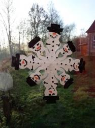 Schneeflockenparade