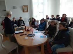 Besuch im Rathaus in Elsfleth