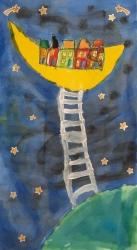 eine Leiter zum Mond_1