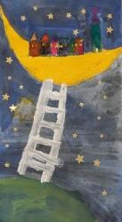 eine Leiter zum Mond_5