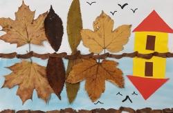 Kl. 1/2 Herbstliche Spiegelungen