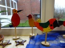 Kl. 4 - Vögel aus Holz