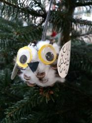 Weihnachtsbaumschmuck Eulen_3
